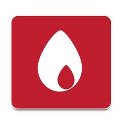 icon drop vector image