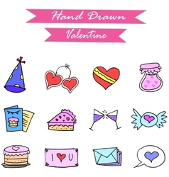 object valentine day vector image