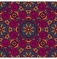 tile vintage seamless pattern tribal background vector image vector image
