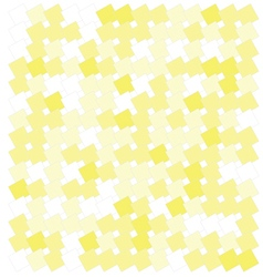 Abstract yellow squares vector