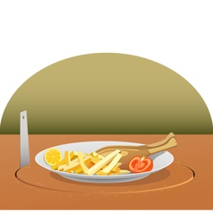 Stealing lunch vector
