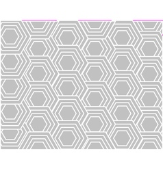 Monochromatic decorative pattern background vector