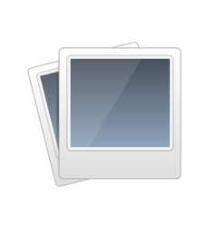 frame foto icon photo sign vector image vector image