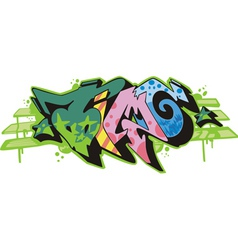 Graffito - time vector