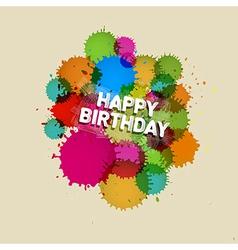 Happy birthday theme vector