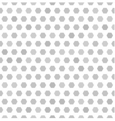 hexagon pattern seamless background vector image
