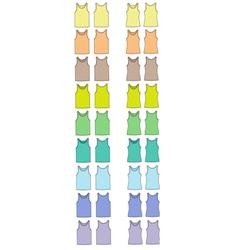 Singlets vector image