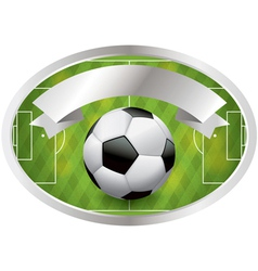 Soccer Champions Badge and Banner vector image vector image