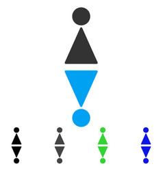 toilet symbols flat icon vector image