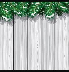 winter scene background vector image