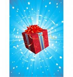 present box vector image