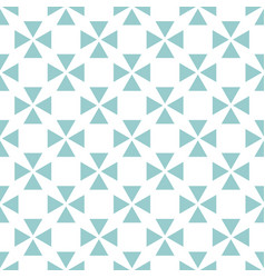 Tile pattern with green blue and white background vector