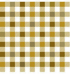 Gold gingham mix seamless pattern vector
