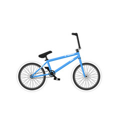 Bmx sport bicycle isolated icon vector