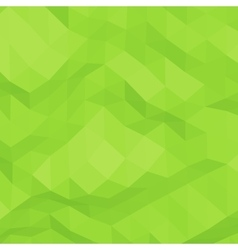 Green abstract triangular background vector