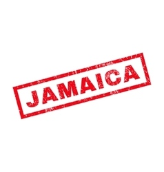 Jamaica rubber stamp vector