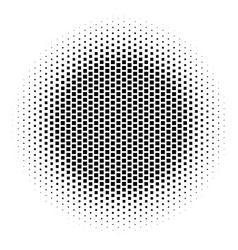 Abstract halftone gradient background circle of vector