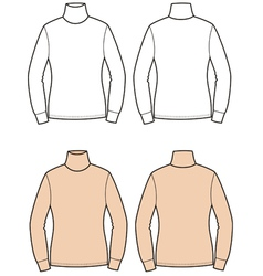 Turtleneck vector