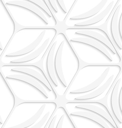 White net and banana shapes seamless pattern vector