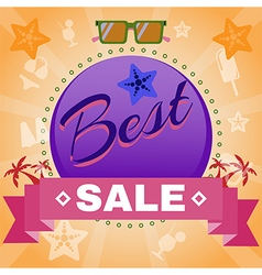 Best sale promotion flyer vector
