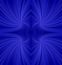 Blue seamless twirl background vector
