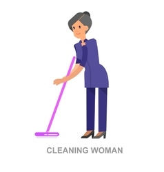 Poster design for cleaning service vector