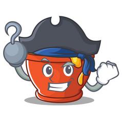 Pirate honey character cartoon style vector