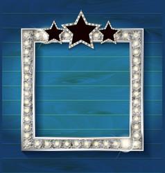 Square blank cinema vector