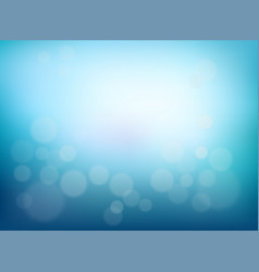 Abstract blurred background blue gradient vector