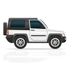 Car jeep off road suv 02 vector