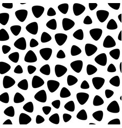 Monochrome seamless pattern black and white vector