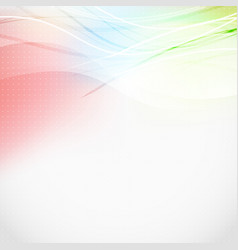 soft light lines abstract colorful background vector image