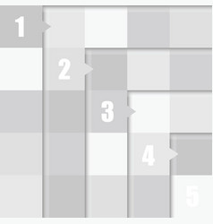 Number in cube in grey color vector