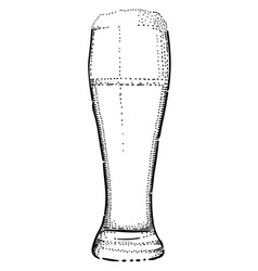 Cartoon image of beer icon beer glass symbol vector