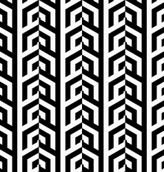 Black and white vertical rows vector