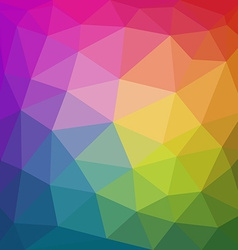 Colorful abstract geometric triangular low poly vector image