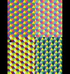 Geometric polygon vector