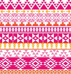 Seamless navajo print aztec pattern tribal vector