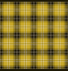 Yellow tablecloth tartan plaid seamless pattern vector