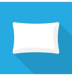 Blank pillow vector