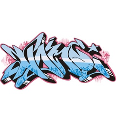 Graffito - name vector