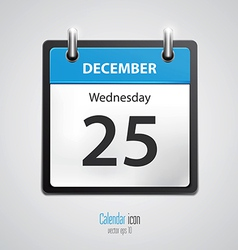 Calendar icon 2 vector