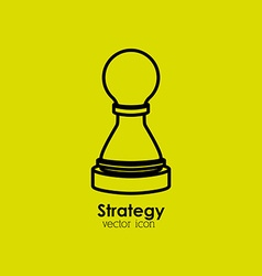 Strategy icon vector