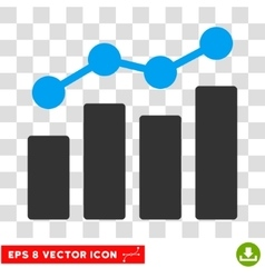 Analytics eps icon vector