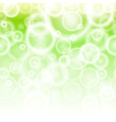 Spring bokeh abstract background vector image vector image
