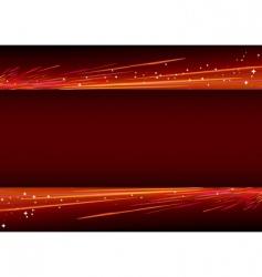 neon light splashes vector image