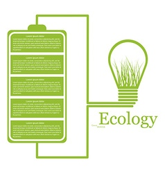 Ecologic modern infographic design elements vector