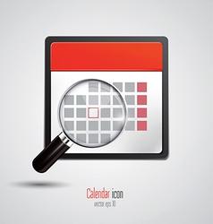 Calendar icon 3 vector