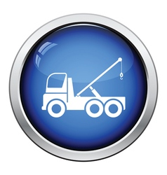 Car towing truck icon vector image vector image