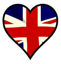 love britain vector image